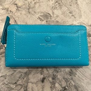 Brand New Marc Jacobs Continental Leather Wallet